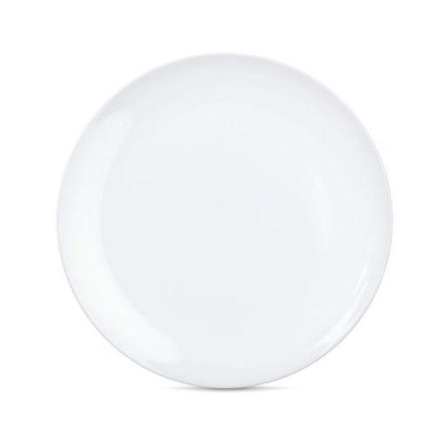 58products - talerz Ø 28 cm - biały błyszczący - 2 szt