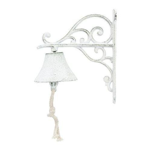 dzwonek żeliwny noel wys. 17,5cm, 8×15×17,5cm marki Dekoria