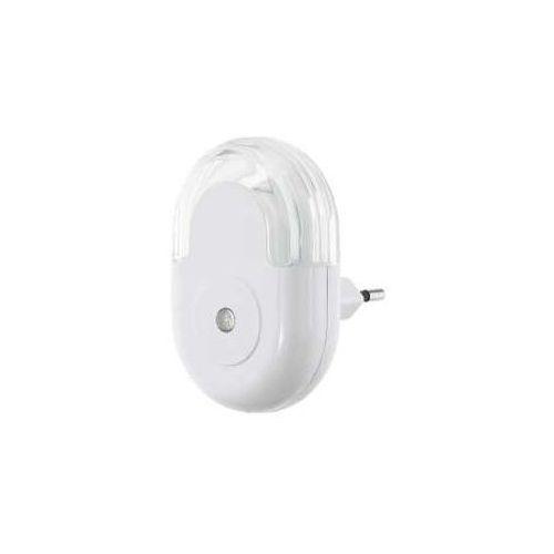 Eglo tineo 97935 lampka wtykowa do gniazda 1x0,3w led biała