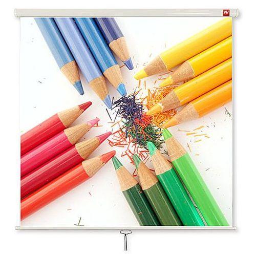 Ekran ścienny 200x200cm AVTek Wall Standard 200 - Matt White
