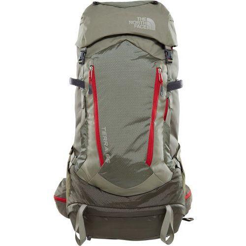 The north face terra 65 plecak czerwony/oliwkowy l/xl 2018 plecaki turystyczne
