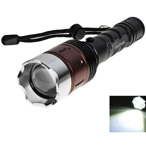 RAUH - weit Cree Q5 5 - Mode 350lm 18650 LED Flashlight with Battery and Charger, kup u jednego z partnerów