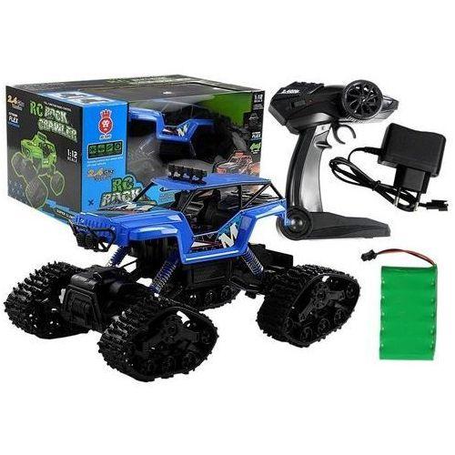Lean toys Auto zdalnie sterowane r/c 1:12 niebieski (5907625582339)