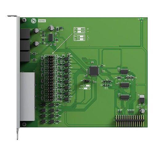 Platan sp. z o.o. sp. k. Libra-io centrala telefoniczna libra karta do sterowania 8 urządzeniami zewnętrznymi