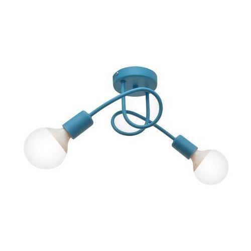 Lampa sufitowa oxford 2xe27/60w/230v niebieski marki Helam