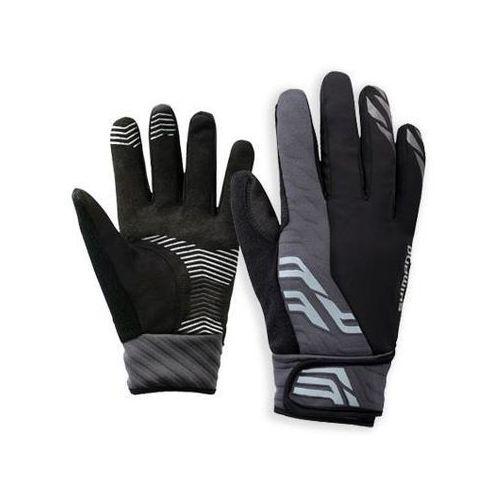 Ecwglbwms42ml5 rękawiczki przeciwdeszczowe z membraną czarne xl do -2°c marki Shimano