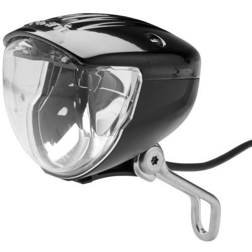Busch + müller lumotec iq2 luxos u dynamo rowerowe czarny lampy na dynamo (4006021008878)