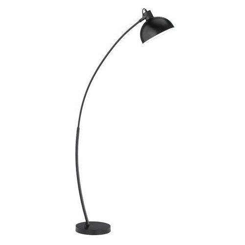 Skandynawska lampa łukowa czarna - recife marki Trio leuchten