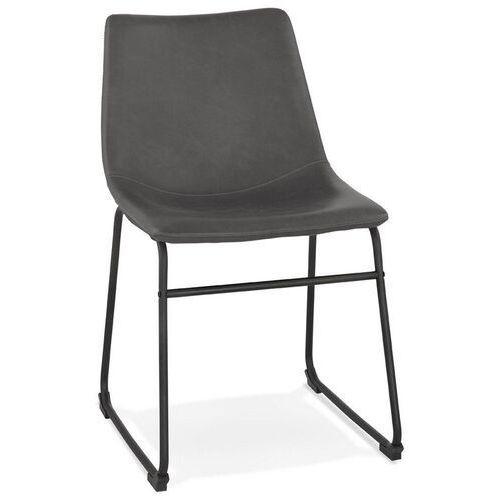 Kokoon design - krzesło biff, ciemnoszare