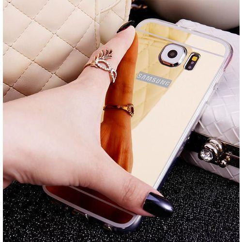 Slim Mirror Case Złoty | Etui dla Samsung Galaxy S6 Edge, kolor Złoty