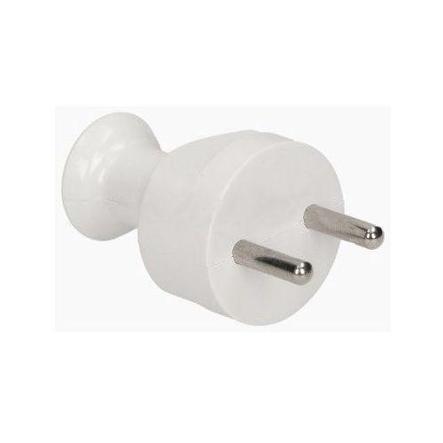 Wtyczka prosta rozbieralna 2p, 16a, 250v, biały, wt-21/biały marki Elektrotaaj