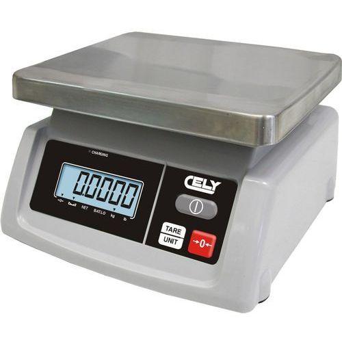 Waga sklepowa do 15 kg zasil. akumulator/230V CELY