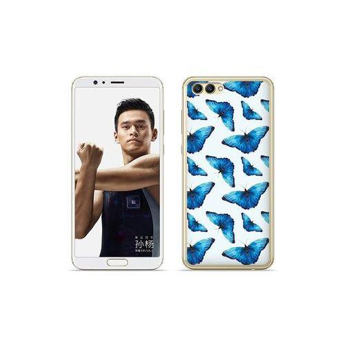 etuo Fantastic Case - Huawei Nova 2S - etui na telefon Fantastic Case - niebieskie motyle, ETHW652FNTCFC049000