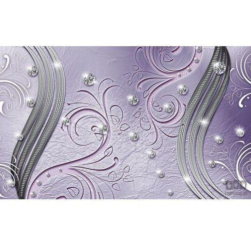 Consalnet Fototapeta fioletowy diamentowy wzór 2012