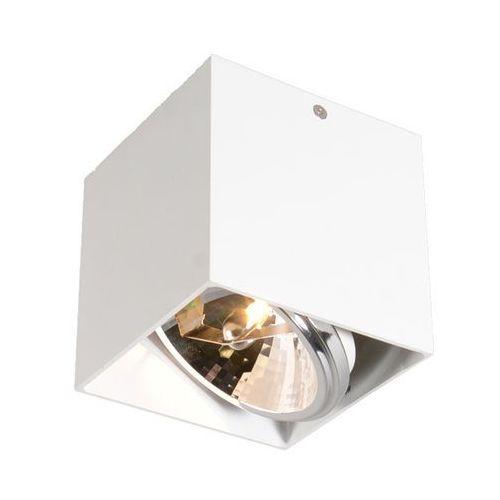 Spot Zuma Line Box SL1 89947-G9 lampa sufitowa ruchoma oprawa natynkowa 1x42W G9 biały + żarówka LED za 1 zł GRATIS! >>> RABATUJEMY do 20% KAŻDE zamów, kolor Biały