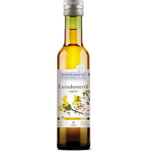 Olej z lnianki ( rydzowy ) virgin bio 250 ml bio planete marki Bio planete (oleje i oliwy)