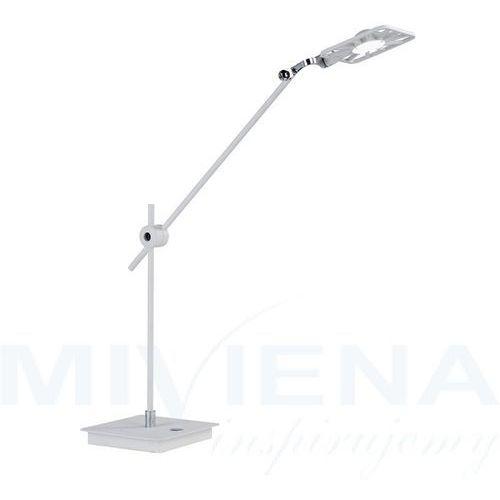 Lampa stołowa led chrom biały 64 cm marki Searchlight