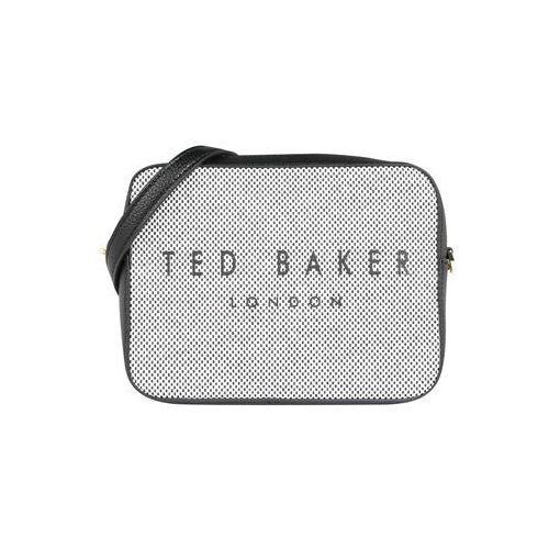 Ted Baker Torba na ramię 'statement camera xbody bag' czarny / biały, kolor biały