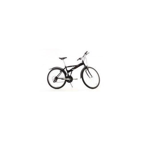 Aluminiowy rower składany składak mifa 26 cali, 21-biegów shimano czarny wyprodukowany przez Mifa germany