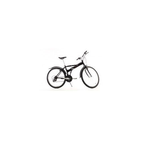Aluminiowy rower składany składak mifa 26 cali, 21-biegów shimano czarny od producenta Mifa germany