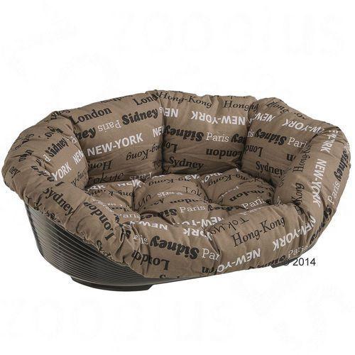 Koszyk dla psa z poduszką Cities - Rozm. 10, dł. x szer. x wys.: 93 x 68 x 28 cm