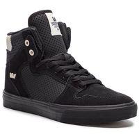 Sneakersy - vaider 08206-029-m black/off white/black, Supra, 41-46