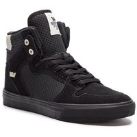 Sneakersy - vaider 08206-029-m black/off white/black, Supra, 42-46