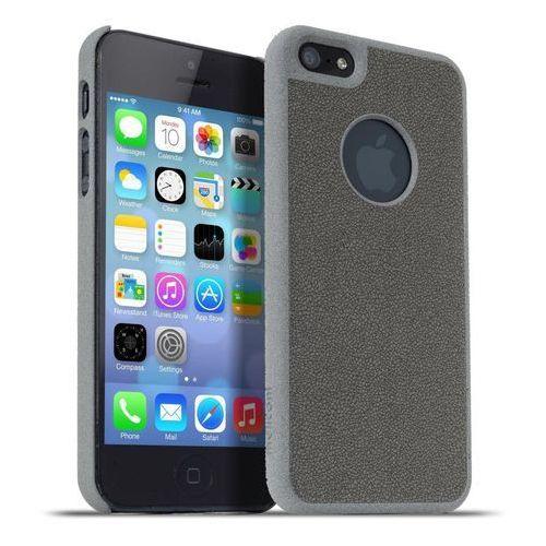 Etui MELICONI Stone do Apple iPhone 5/5S Szary, 8006023204601