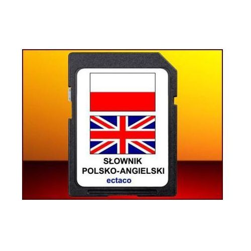 Karta z językiem angielsko-polskim, do tłumacza partner-500. marki Ectaco. Najniższe ceny, najlepsze promocje w sklepach, opinie.