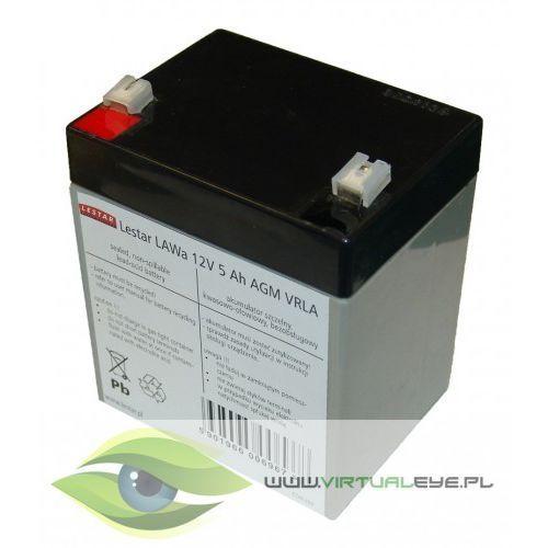 Lestar akumulator wymienny lawa 12v 5ah agm vrla (5901966006967)