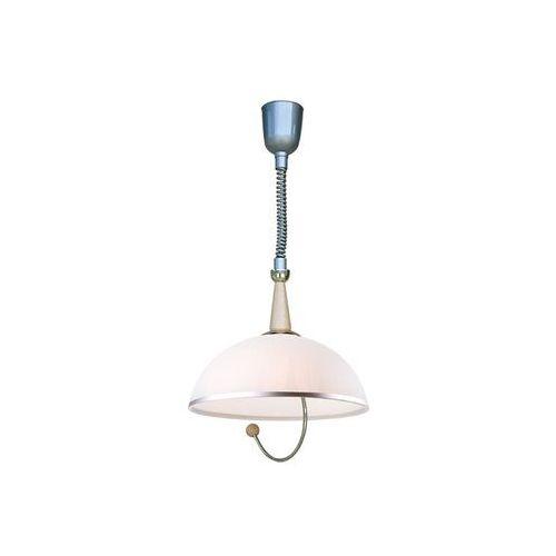 Lampa wisząca z reg. wysokości 1xe27/60w/230v marki Lamkur