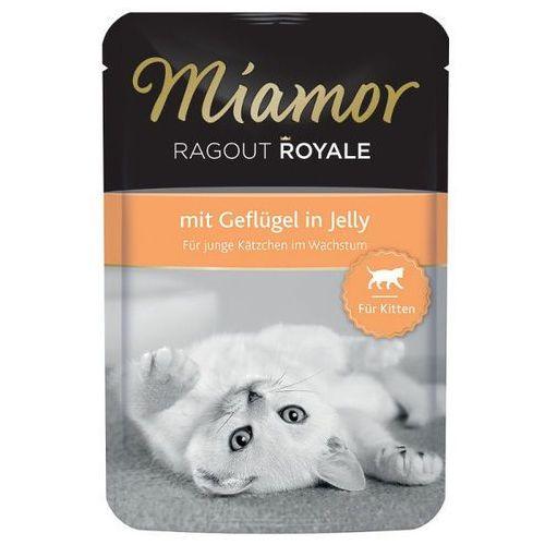 MIAMOR Ragout Royale Kitten drób 100 g