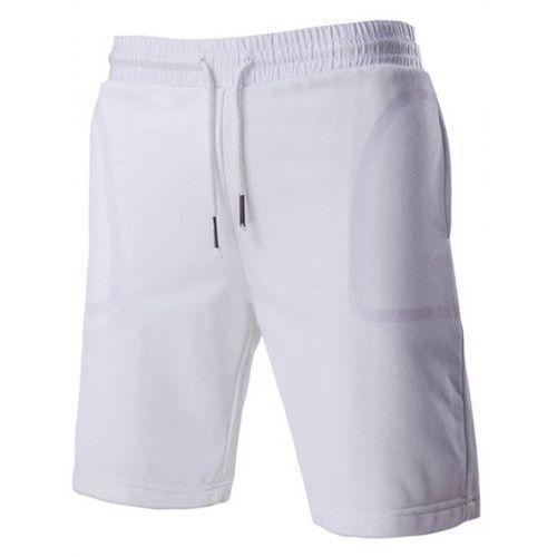 Rosewholesale Brief style transparent pocket design drawstring waistband shorts for men