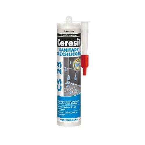 Silikon sanitarny cs-25 280 ml biały marki Ceresit
