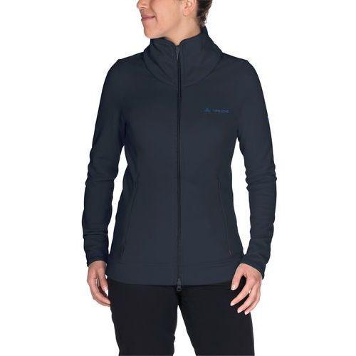 lory kurtka kobiety niebieski 46 2018 kurtki polarowe marki Vaude