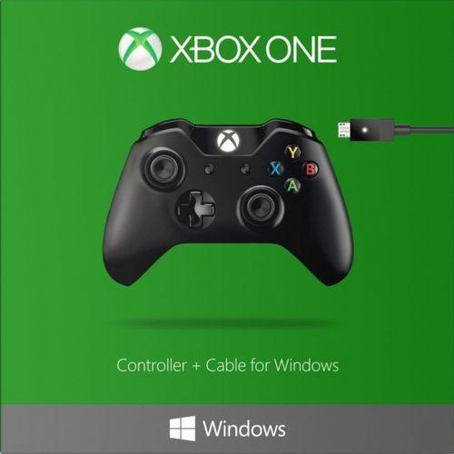 OKAZJA - Kontroler / Gamepad Microsoft Xbox One + bezprzewodowy adapter dla Windows 10 (0885370944211)