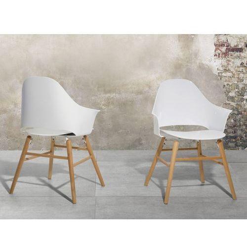 Krzesło białe - Krzesło do jadalni, do salonu - krzesło kubełkowe - BOSTON, kup u jednego z partnerów