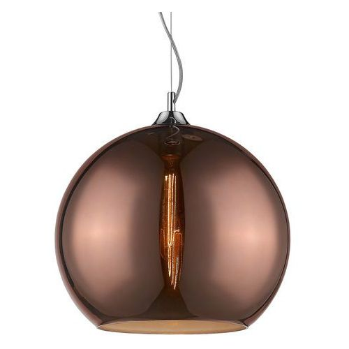 Italux Lampa wisząca fixio 7099-p-red copper zwis 1x60w e27 miedziana / chrom