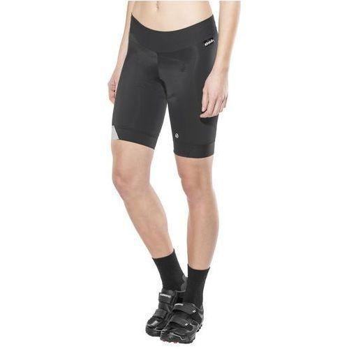 h.laalalaishorts_s7 spodnie rowerowe czarny/srebrny s 2018 spodnie szosowe marki Assos