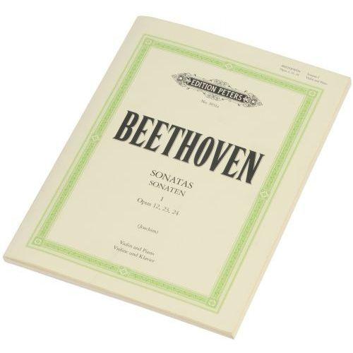 beethoven ludwig van - sonaty na skrzypce i fortepian (wyd. peters 51030311) marki Pwm