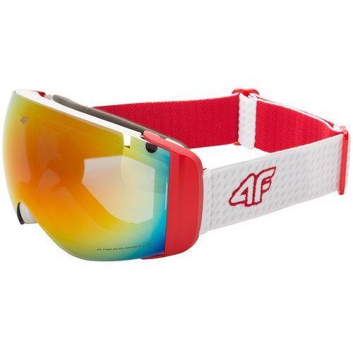 Gogle narciarskie damskie GGD250Z - biały, D4Z17-GGD250-one size-0