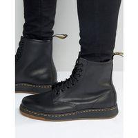 lite newton 8-eye boots - black, Dr martens