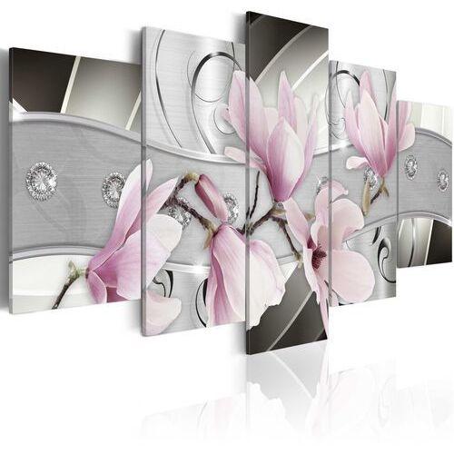 Obraz - stalowe magnolie marki Artgeist