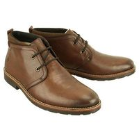 35324-25 brown, trzewiki męskie, Rieker