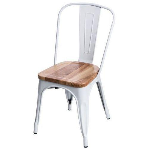 Krzesło Paris Wood jesion - biały, d2-5162