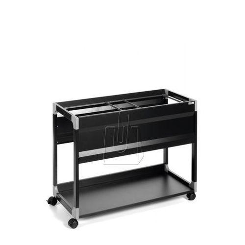 Wózek na teczki zawieszane Durable System 100 Multi czarny 3785-01 (4005546301686)