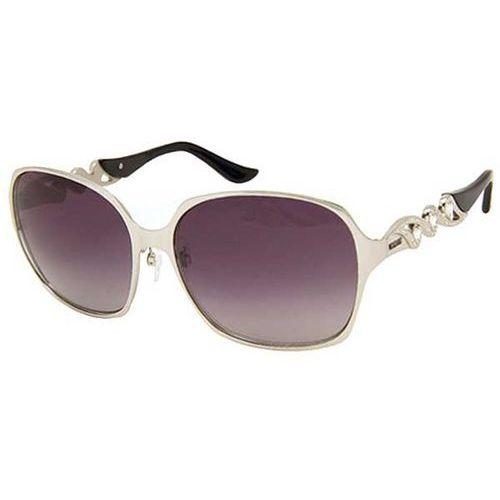 Okulary Słoneczne Moschino MO 590/STRASS 01 AE, kolor żółty