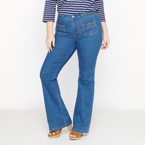 Rozszerzane dżinsy, jeansy