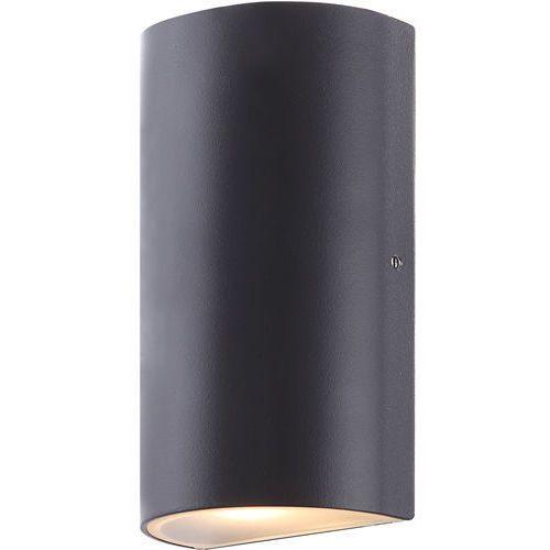 Kinkiet lampa oprawa ścienna zewnętrzna Globo Evalia 1x6,8W LED grafitowy 34154, 34154