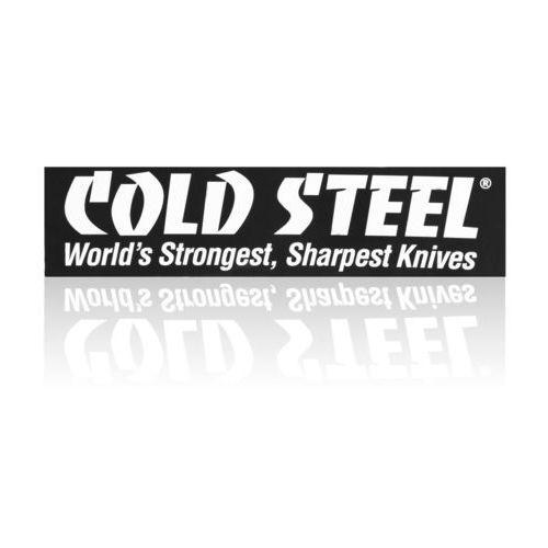 Naklejka na zderzak samochodowy Cold Steel Bumper White on Black (PRCSS.1), towar z kategorii: Pozostały camping i survival